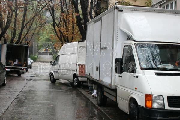 Изнася и извозва мебели в София