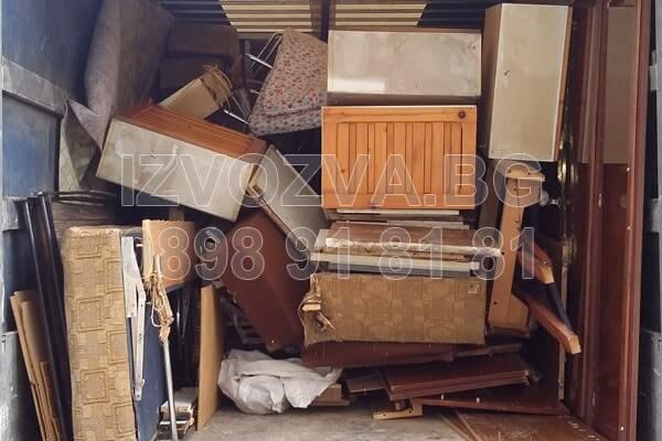 Изнася и извозва мебели