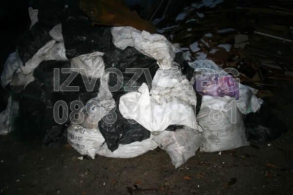 Бус за извозване на строителни отпадъци в София